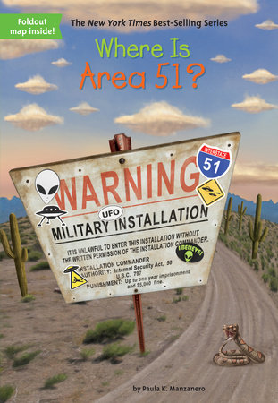 where is area 51 book